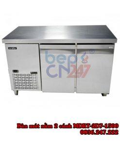bàn mát nằm 2 cánh 1,5m MDRT-2D7-1500