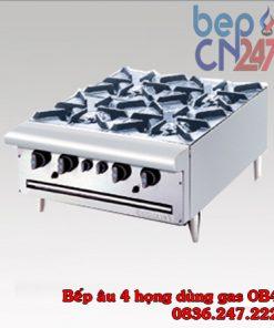 bếp âu 4 họng dùng gas OB4
