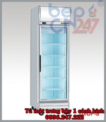 tủ mát trưng bày 1 cánh kính