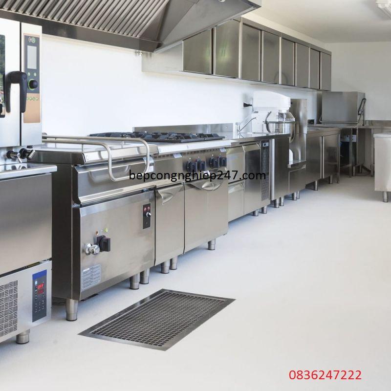 Set up khu bếp công nghiệp cho nhà hàng
